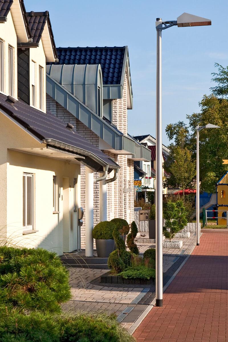 Beleuchtungslösung Referenz Straßenbeleuchtung