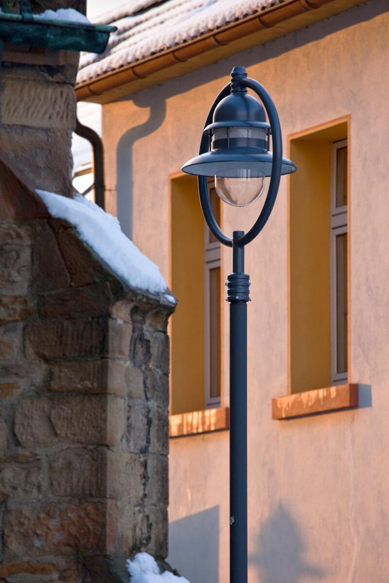 Beleuchtungslösung Referenz Straßenbeleuchtung Sonderlösung